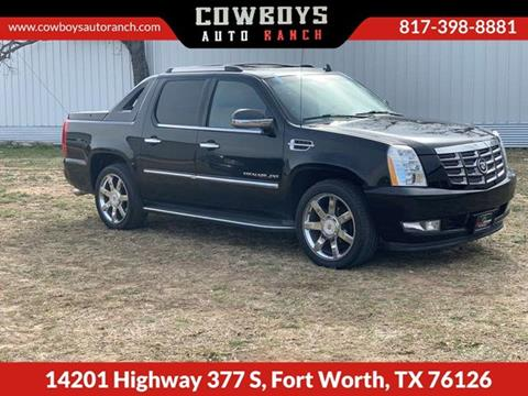 Escalade Ext For Sale >> 2010 Cadillac Escalade Ext For Sale In Fort Worth Tx