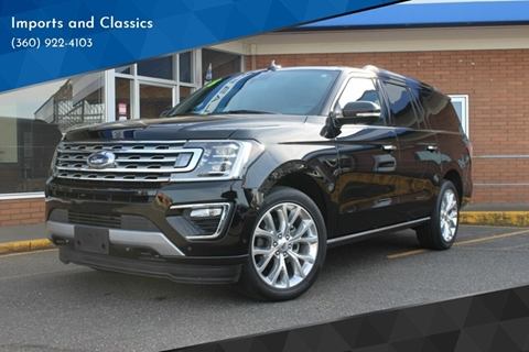 2018 Ford Expedition MAX for sale in Lynden, WA