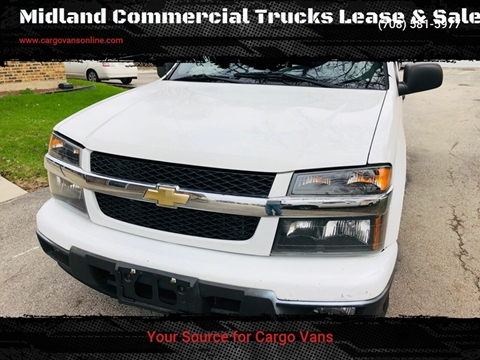 2012 Chevrolet Colorado for sale at Midland Commercial. Chicago Cargo Vans & Truck in Bridgeview IL