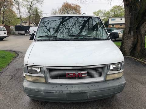 2001 GMC Safari Cargo for sale at Midland Commercial. Chicago Cargo Vans & Truck in Bridgeview IL