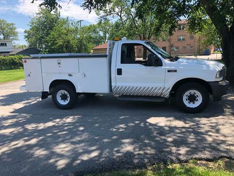 2003 Ford F-350 Super Duty for sale at Midland Commercial. Chicago Cargo Vans & Truck in Bridgeview IL