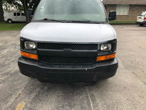 2010 Chevrolet Express Cargo for sale at Midland Commercial. Chicago Cargo Vans & Truck in Bridgeview IL
