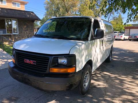 2007 GMC Savana Cargo for sale at Midland Commercial. Chicago Cargo Vans & Truck in Bridgeview IL