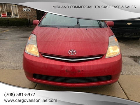 2006 Toyota Prius for sale at Midland Commercial. Chicago Cargo Vans & Truck in Bridgeview IL