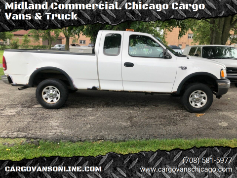 2003 Ford F-150 for sale at Midland Commercial. Chicago Cargo Vans & Truck in Bridgeview IL