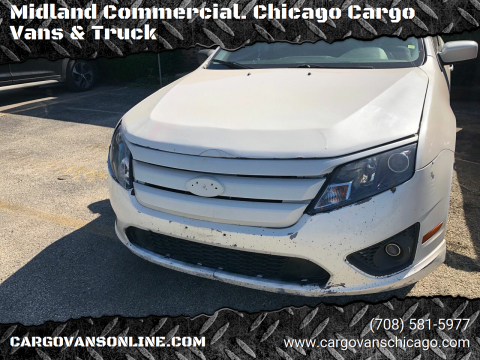 2010 Ford Fusion for sale at Midland Commercial. Chicago Cargo Vans & Truck in Bridgeview IL