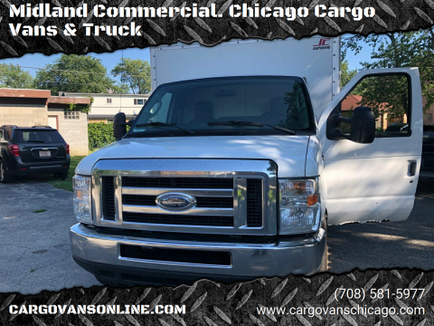 2013 Ford E-Series Chassis for sale at Midland Commercial. Chicago Cargo Vans & Truck in Bridgeview IL