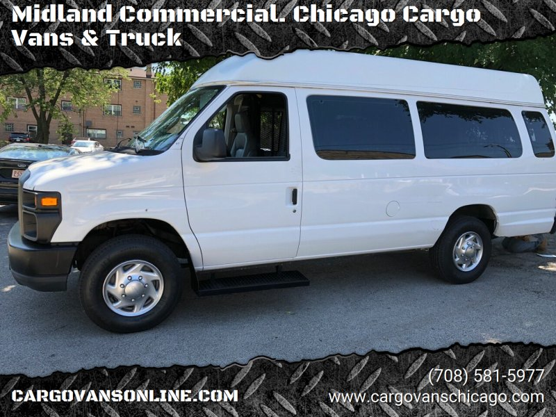 2010 Ford E-Series Cargo for sale at Midland Commercial. Chicago Cargo Vans & Truck in Bridgeview IL