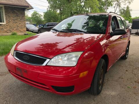 2006 Ford Focus for sale at Midland Commercial. Chicago Cargo Vans & Truck in Bridgeview IL