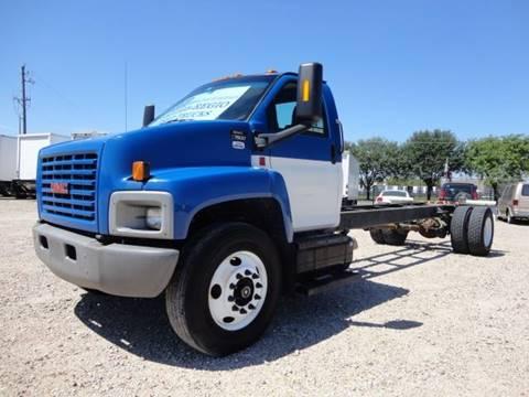 2008 GMC C7500 for sale at Regio Truck Sales in Houston TX