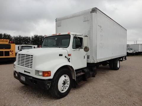 1996 International 4900 for sale at Regio Truck Sales in Houston TX