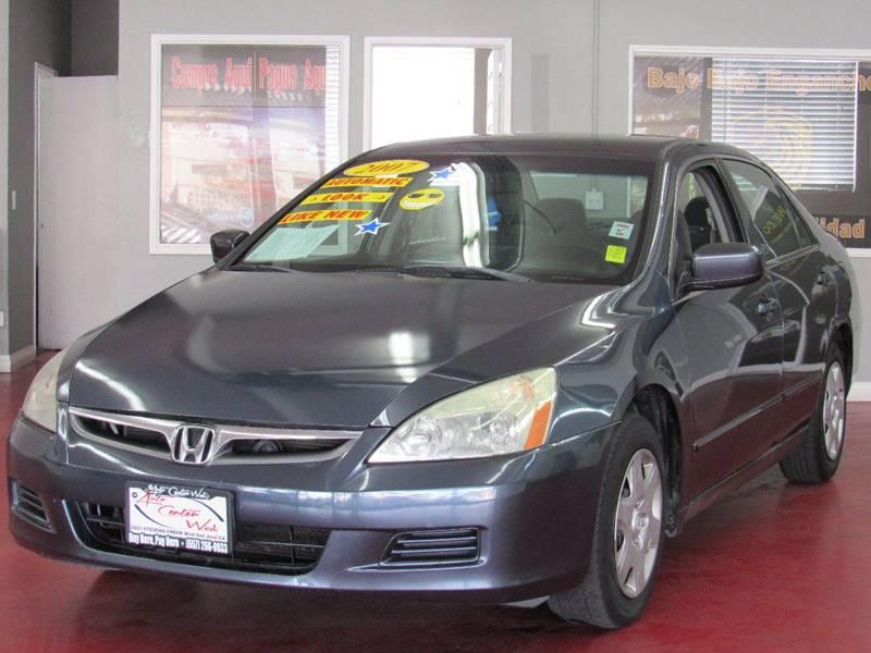 2007 Honda Accord For Sale At M Auto Center West 4 In Santa Ana CA