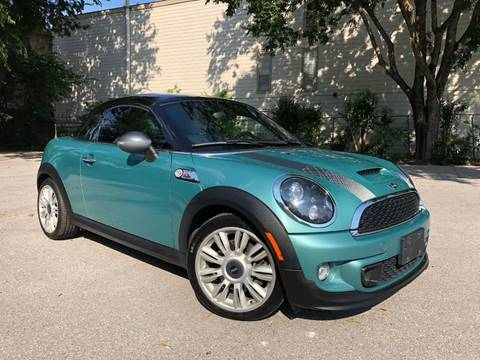 2012 MINI Cooper Coupe for sale at Guero's Auto Sales in Austin TX