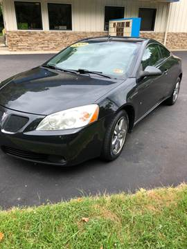 2009 Pontiac G6 for sale in Wheeling, WV