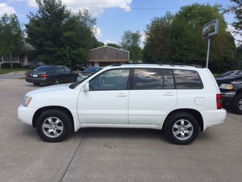 2001 Toyota Highlander for sale at 6th Street Auto Sales in Marshalltown IA