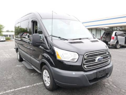 2017 Ford Transit Passenger 350 XLT for sale at AMS Vans in Pearland TX