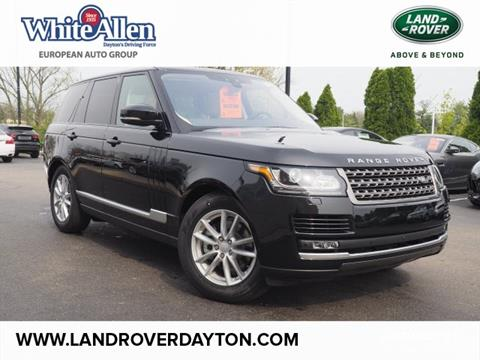 2017 Land Rover Range Rover for sale in Dayton, OH