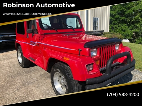 1991 Jeep Wrangler for sale in Albermarle, NC