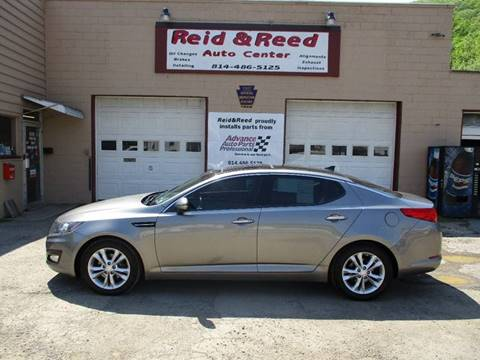 2013 Kia Optima for sale at Reid's Auto Sales & Service in Emporium PA