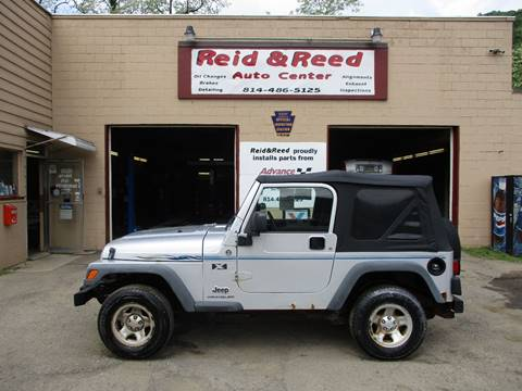 2006 Jeep Wrangler for sale at Reid's Auto Sales & Service in Emporium PA
