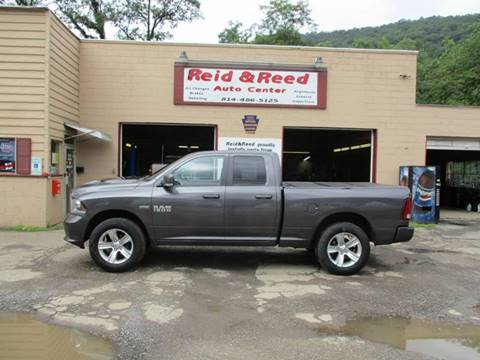 2014 RAM Ram Pickup 1500 for sale at Reid's Auto Sales & Service in Emporium PA