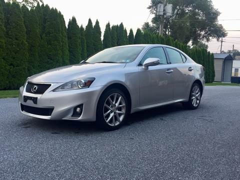 2013 Lexus IS 250 for sale at Kingdom Autohaus LLC in Landisville PA