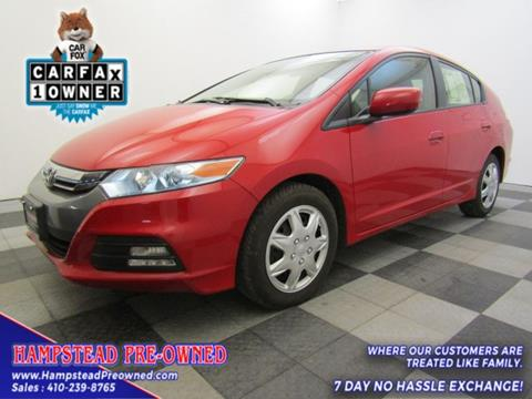 2014 Honda Insight for sale in Hampstead, MD