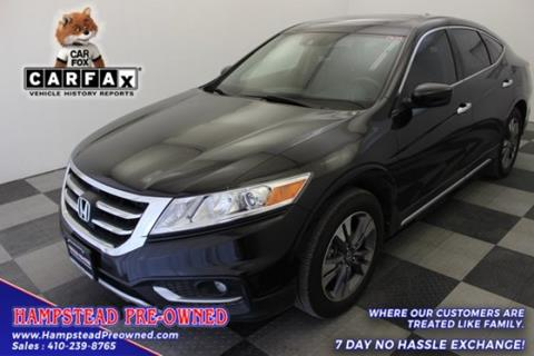 2014 Honda Crosstour for sale in Hampstead, MD