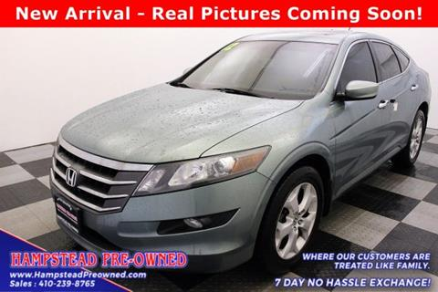2012 Honda Crosstour for sale in Hampstead, MD