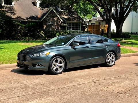 2015 Ford Fusion for sale at Texas Auto Corporation in Houston TX