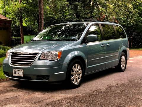 2008 Chrysler Town and Country for sale at Texas Auto Corporation in Houston TX