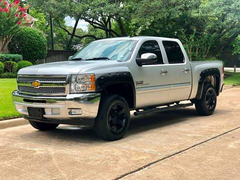 2012 Chevrolet Silverado 1500 for sale at Texas Auto Corporation in Houston TX