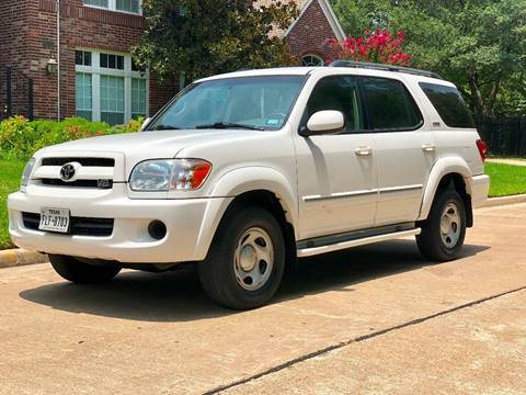 2007 Toyota Sequoia for sale at Texas Auto Corporation in Houston TX