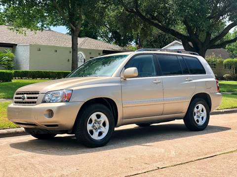 2005 Toyota Highlander for sale at Texas Auto Corporation in Houston TX