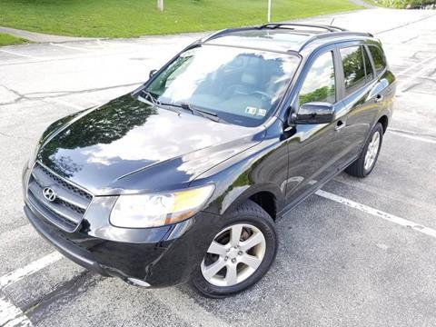 2007 Hyundai Santa Fe for sale at FAYAD AUTOMOTIVE GROUP in Pittsburgh PA