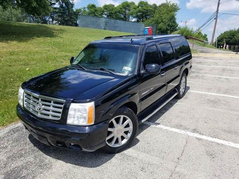 2006 Cadillac Escalade ESV for sale at FAYAD AUTOMOTIVE GROUP in Pittsburgh PA