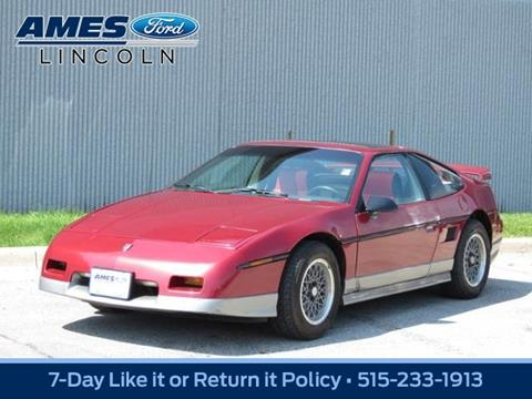 1987 Pontiac Fiero for sale in Ames, IA