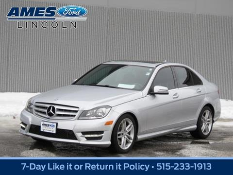 2013 Mercedes-Benz C-Class for sale in Ames, IA