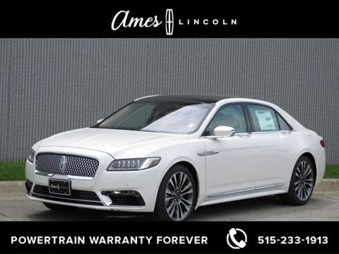 2019 Lincoln Continental for sale in Ames, IA