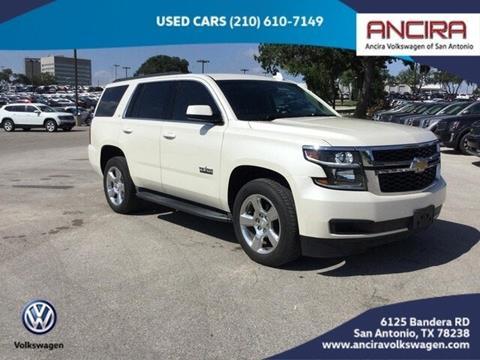 2015 Chevrolet Tahoe for sale in San Antonio, TX