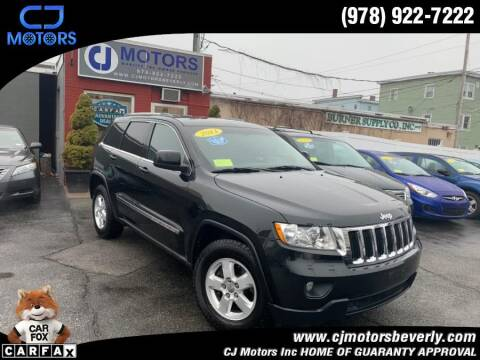 2011 Jeep Grand Cherokee for sale at CJ Motors Inc. in Beverly MA