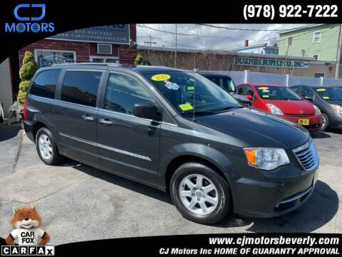 2012 Chrysler Town and Country for sale at CJ Motors Inc. in Beverly MA