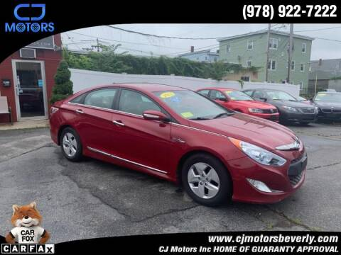 2011 Hyundai Sonata Hybrid for sale at CJ Motors Inc. in Beverly MA