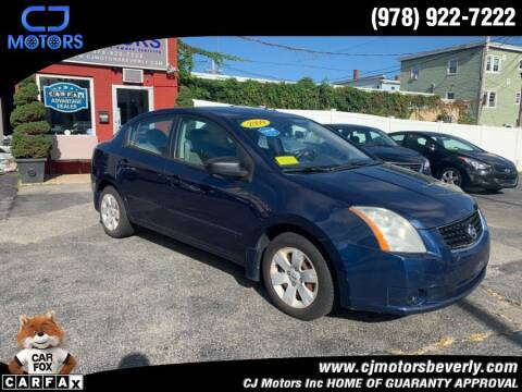 2009 Nissan Sentra for sale at CJ Motors Inc. in Beverly MA