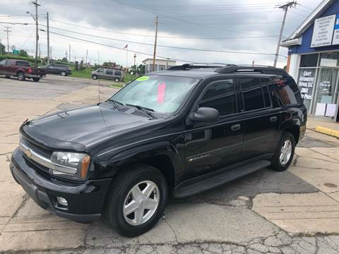 2003 Chevrolet TrailBlazer for sale at Boardman Auto Exchange in Youngstown OH