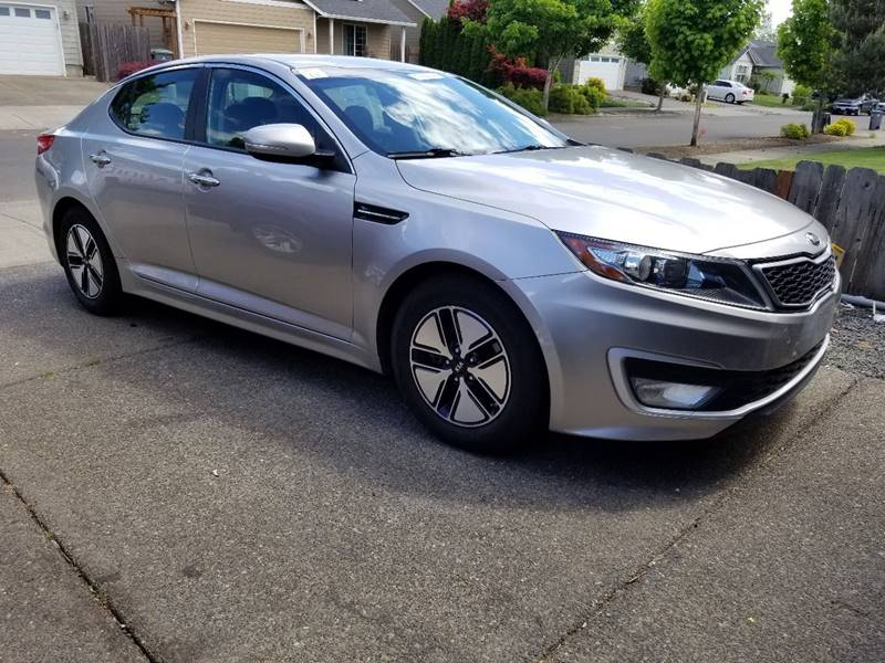 2012 Kia Optima Hybrid for sale at McMinnville Auto Sales LLC in Mcminnville OR