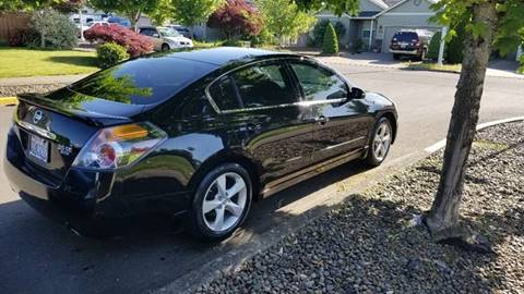 2007 Nissan Altima for sale at McMinnville Auto Sales LLC in Mcminnville OR