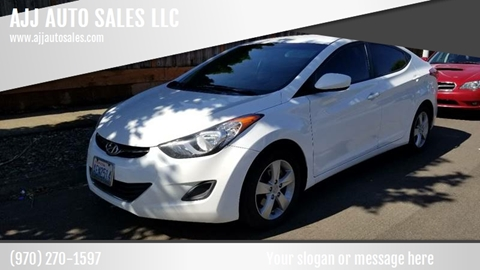 2011 Hyundai Elantra for sale at McMinnville Auto Sales LLC in Mcminnville OR