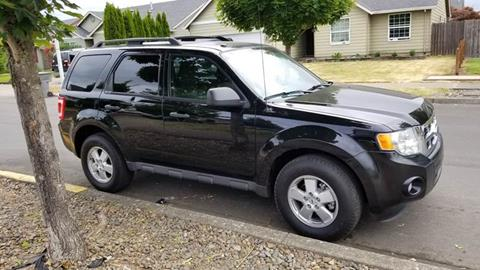 2012 Ford Escape for sale at McMinnville Auto Sales LLC in Mcminnville OR