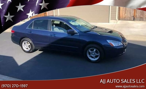 2004 Honda Accord for sale at McMinnville Auto Sales LLC in Mcminnville OR